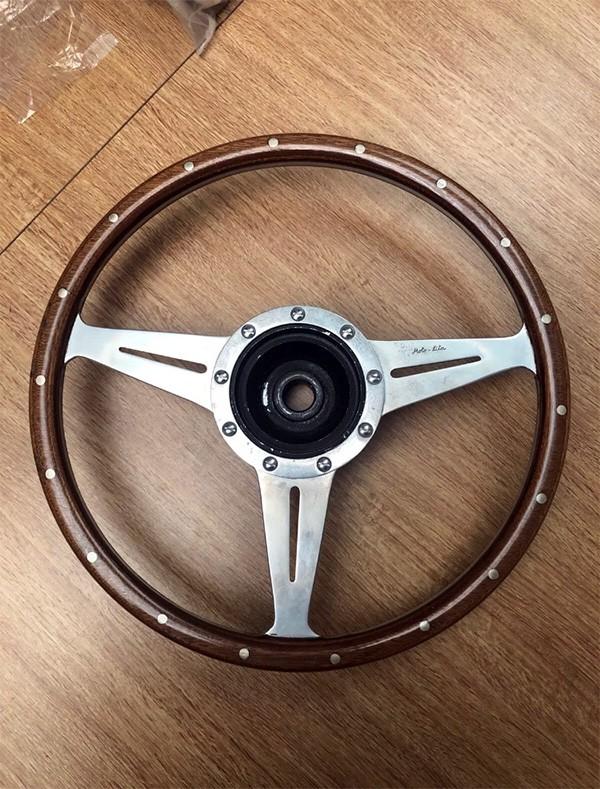 Moto Lita Steering Wheel Woodrim