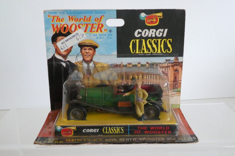 Corgi 9004 World of Wooster Jeeves and Wooster Vintage Bentley